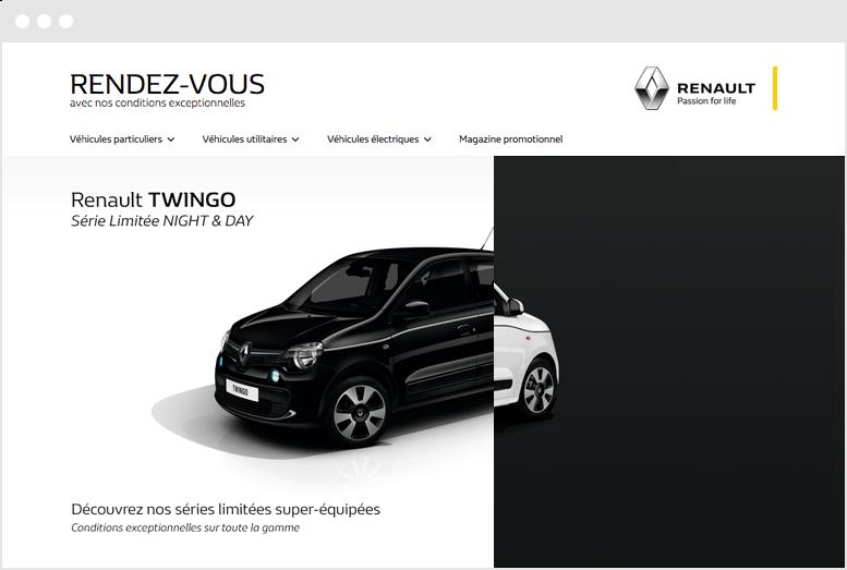Renault & Dacia - Desktop screenshot